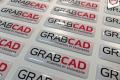 GrabCad kristallkleebis