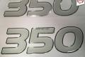 350 paadimootori kristallkleebis